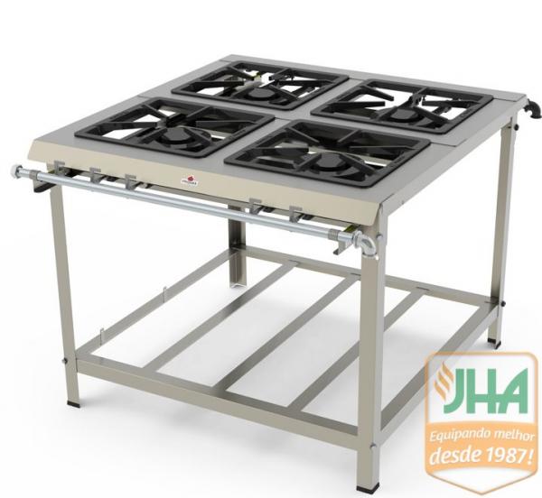 Fogão IndustrialPMDI-400 N Progás, qualidade e durabilidade na sua cozinha.