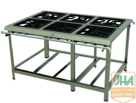 Fogão IndustrialPMDI-600 N Progás, qualidade e durabilidade na sua cozinha. ideal para quem precisa aumentar sua produção.