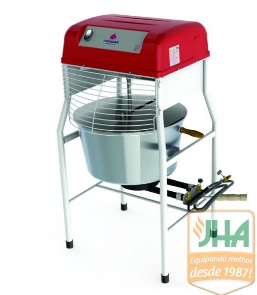Muito utilizado para produção de variados tipo de massas, geleias, polenta, assim sendo um importante equipamento para sua cozinha industrial.